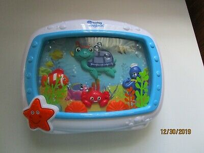 Baby Einstein Sea Dreams Soother Musical Crib Toy and Sound Pre owned good
