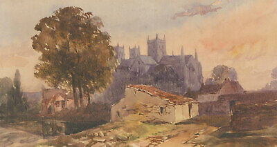 Attrib. William Evans (1798-1877) - 19th Century Watercolour, Peterborough