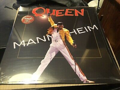 Queen Mainheim Rare Numbered 84 Of 150 Limited Red Vinyl Lp Sealed Mint