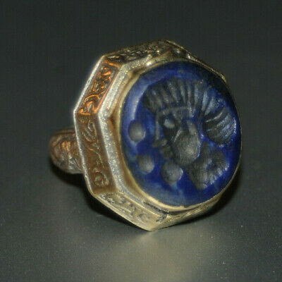 ONE OF A KIND Rare Ancient medieval roman Military Bronze Ring Museum Quality #1