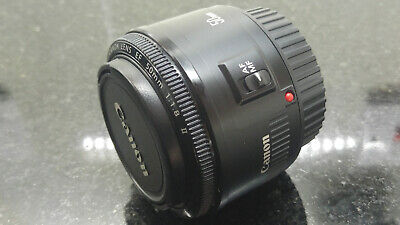 Canon EF 50mm f/1.8 II camera lens, Excellent Condition