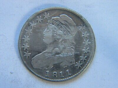 1811 Capped Bust Half Dollar Fine Detail