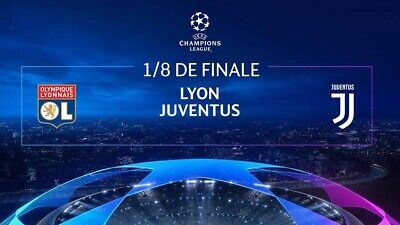 2 Biglietti Champions League LIONE VS JUVENTUS del 26/02 TRIBUNA INFERIORE