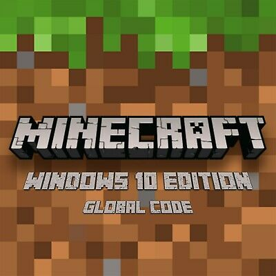 Minecraft PC: Windows 10 Edition Code - Licensed Global Key