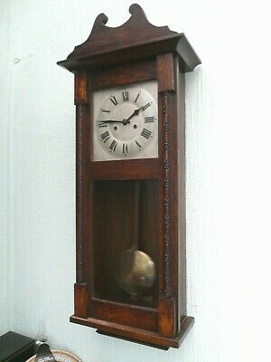 Antique HAC gong striking Wall Clock - Overhauled