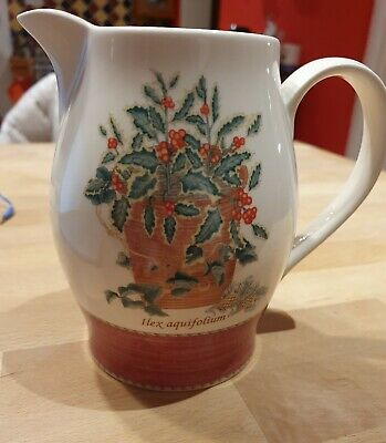 Wedgwood Queen's Ware Sarah's Garden - Christmas Mulled Wine Jug