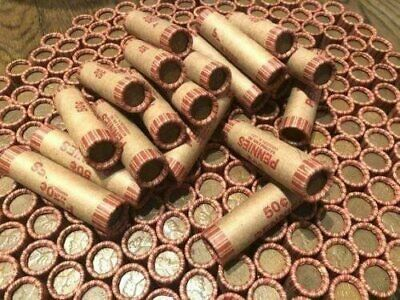 Wheat Cent Roll Lincoln Pennies - Rare Unopened Penny Lot Old US Coin Mixed Lot