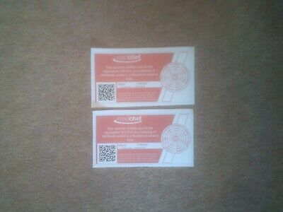 Roadchef Service Station £20 Gift Voucher Gift Card Brand New