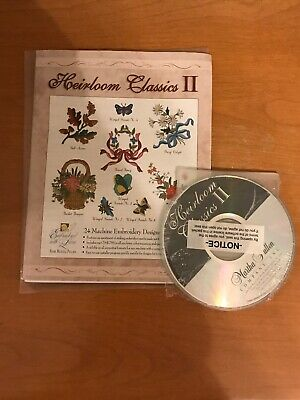 Martha Pullen Machine Embroidery CD  Heirloom Classics II
