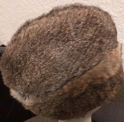 Vintage Dobbs Rabbit Fur Hat Size Medium
