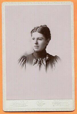 Macomb, IL, Portrait of a Young Woman, by Gaites, circa 1890s