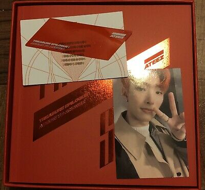 ATEEZ TREASURE EPILOGUE : Action To Answer Album with Mingi Photocard Ver. A