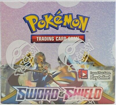 Pokemon Tcg Sword & Shield Swsh1 Base Set Booster Sealed Box