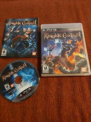 Knights Contract PS3 Game CIB COMPLETE  (Sony PlayStation 3, 2011) NICE DISC