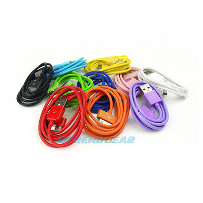 80X 3FT 30PIN USB SYNC DATA POWER CHARGER CABLE CORD IPHONE IPOD TOUCH NANO IPAD