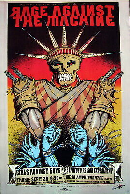 RAGE AGAINST THE MACHINE 1996 PHOENIX CONCERT TOUR POSTER FROM ASIA (Repro)