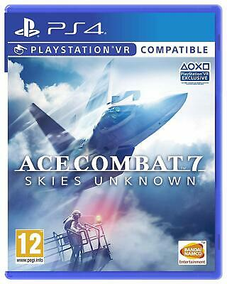 Ace Combat 7 Skies Unknown PS4 (New & Sealed)