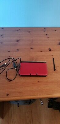 Pre-owned Red Nintendo 3DS XL with USB charger