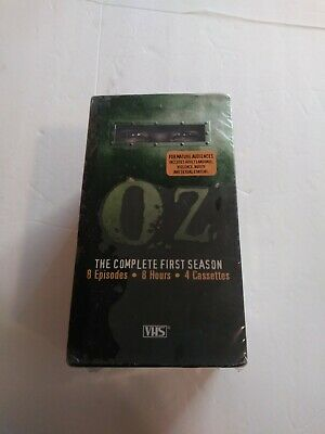 Oz Complete First Season Vhs Tapes New Sealed