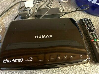 Humax HDR-1100S 1TB Freesat with Freetime Satellite HD TV Recorder - Black