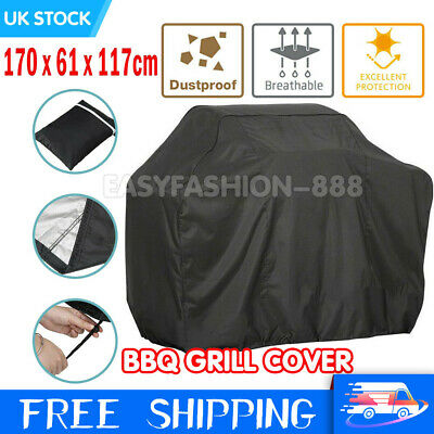 NEW XL 170CM BBQ Cover Waterproof Garden Barbecue Grill Heavy Duty Extra Large
