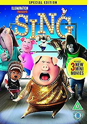 Sing [DVD] [2017], , Used; Very Good DVD