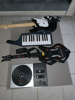 Lot Pour Ps3,wii ,Guitare Hero,rockband.