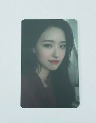 """MONTHLY GIRL LOONA Olivia Hye Limited Photocard - Official 2nd Mini Album """" # """""""