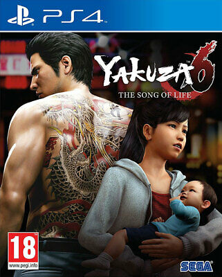 Yakuza 6: The Song of Life (PS4)  NEW AND SEALED - IN STOCK - QUICK DISPATCH