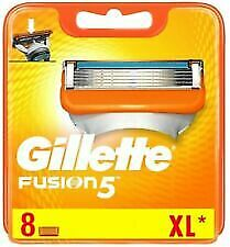 Gillette Fusion 5  Razor Blades 8 pack XL - Genuine