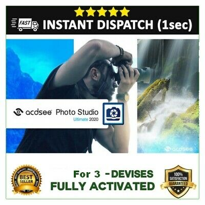 ACDSee Photo Studio Ultimate 2020 Lifetime Activation ⚡ Fast Delivery ⚡  for 3PC