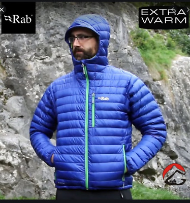 Rab Microlight Alpine Hooded Jacket XXL NWT new NWT