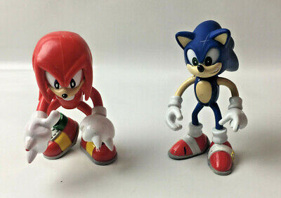 """Official Sega Toy Island 2000 - Sonic The Hedgehog & Knuckles 5"""" Poseable Figure"""