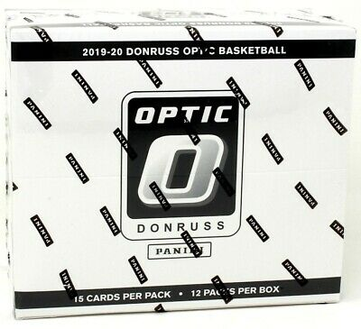 2019/20 Panini Donruss Optic Basketball Multi-Pack Cello Box Blowout Cards