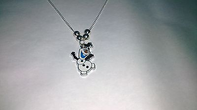 Unwanted DISNEY FROZEN Snowman Fun Olaf NECKLACE Party Bag Gift