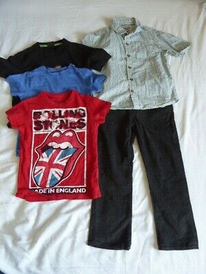 Boys Next, TU and GAP Top and Trouser Bundle Age 5 Years
