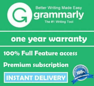 🔥Grammarly Premium|Instant Delivery|1-3 Years Subscription| English Education🔥