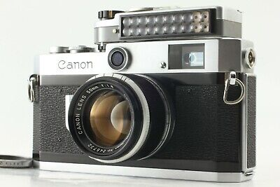 【EXC+++】Canon P SLR 35mm Rangefinder Film Camera + Meter , Lens From Japan A044