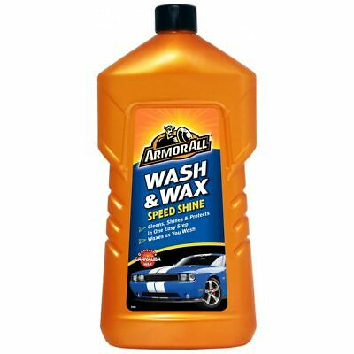 Armor All Wash and Wax Speed Shine 1L - Clear - UK Seller