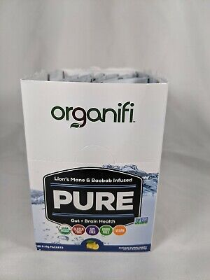 Organifi Pure Gut + Brain Health 24 Packets out of 30 Open Case