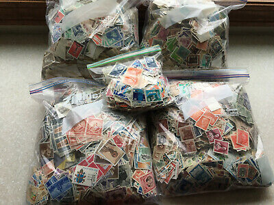 WORLDWIDE Lot Of  OVER 7 LBS OF STAMPS Off paper International Collection