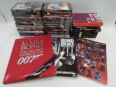 JAMES BOND 007 Bundle Of DVDs And Books - S61