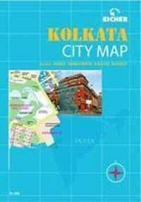 Kolkata City Map by Eicher Goodearth Limited (Paperback / softback) Great Value