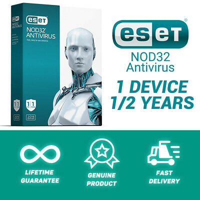 ESET NOD32 Antivirus | 1/2 Years | 1 Device | Fast delivery | GLOBAL KEY