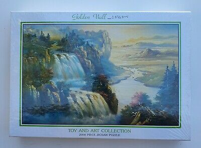 Toy and Art Collection - The Golden Wall- 2000 Piece Jigsaw Puzzle