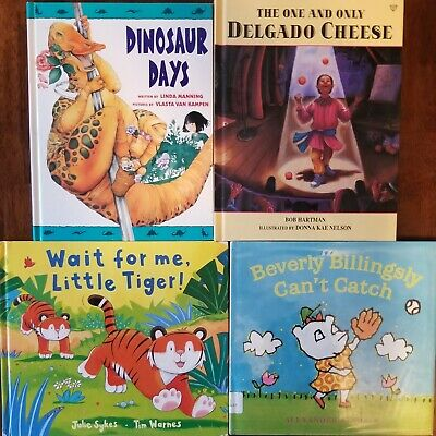 Children's Hardcover Book Lot - Learning New Talents & Perseverance!  310