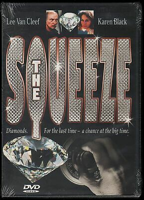 THE SQUEEZE Lee Van Cleef Crime Drama NEW DVD