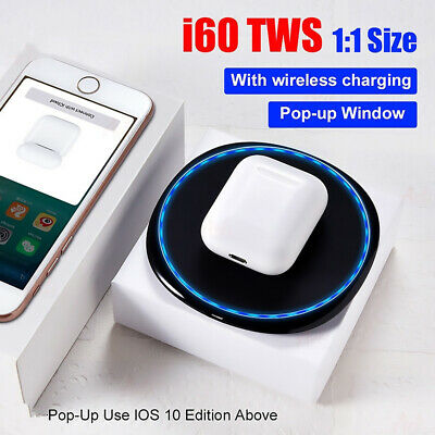 TWS Ecouteurs sans fil Bluetooth 5.0 Smart Touch pour iPhone FR Earphone i60 FR