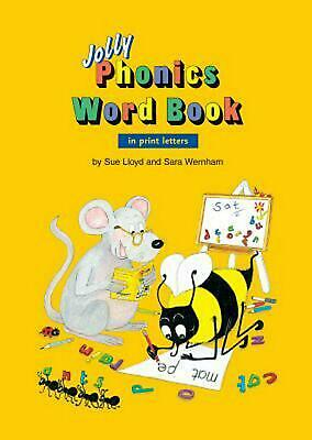 Jolly Phonics Word Book: In Print Letters by Sue Lloyd (English) Paperback Book