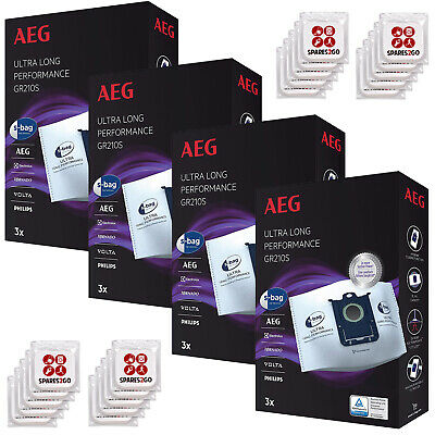 5 x S-Bag Vacuum Cleaner Hoover Dust Bags for Philips Zanussi Electrolux /& AEG